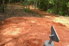 Lakeshore, GA - Guy Paths Cleared, Anchors Installed (6)